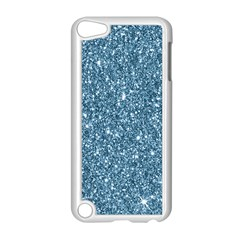 New Sparkling Glitter Print F Apple Ipod Touch 5 Case (white) by MoreColorsinLife