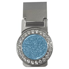 New Sparkling Glitter Print F Money Clips (cz)  by MoreColorsinLife