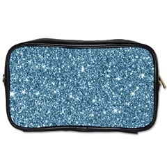 New Sparkling Glitter Print F Toiletries Bags 2 Side by MoreColorsinLife