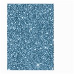 New Sparkling Glitter Print F Large Garden Flag (Two Sides) Back