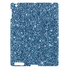 New Sparkling Glitter Print F Apple Ipad 3/4 Hardshell Case by MoreColorsinLife
