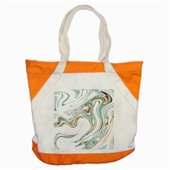 Abstract Marble 1 Accent Tote Bag