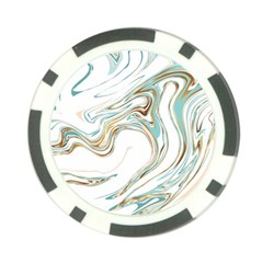 Abstract Marble 1 Poker Chip Card Guard (10 Pack) by tarastyle