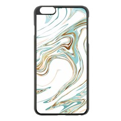 Abstract Marble 1 Apple Iphone 6 Plus/6s Plus Black Enamel Case by tarastyle