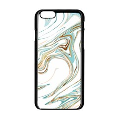 Abstract Marble 1 Apple Iphone 6/6s Black Enamel Case by tarastyle