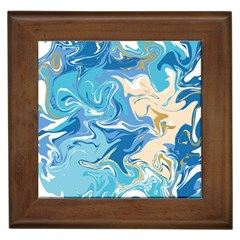 Abstract Marble 2 Framed Tiles by tarastyle