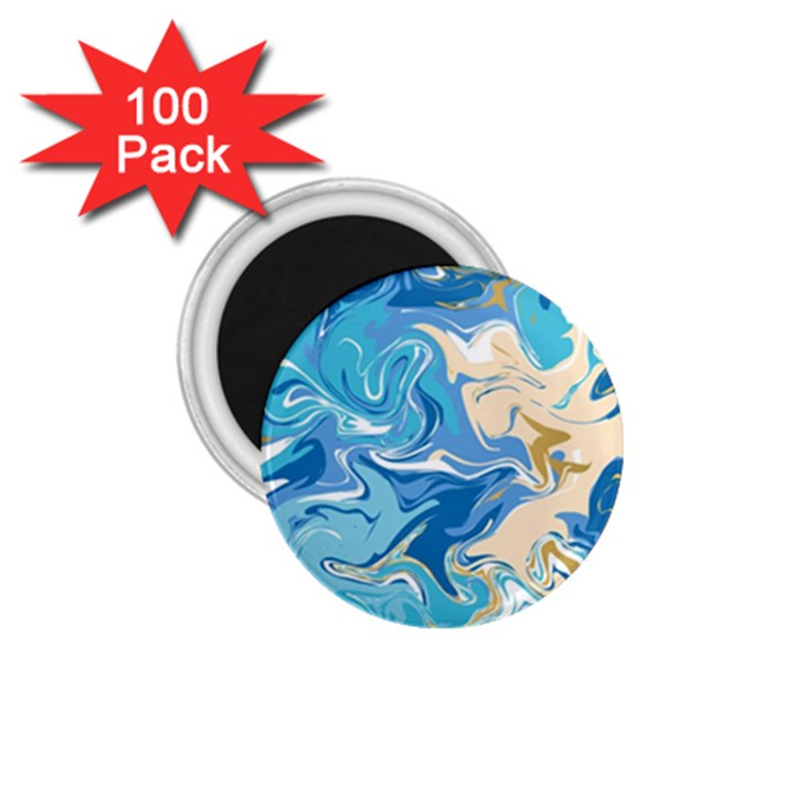 Abstract Marble 2 1.75  Magnets (100 pack)