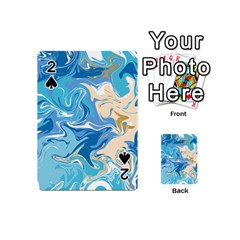 Abstract Marble 2 Playing Cards 54 (mini)  by tarastyle