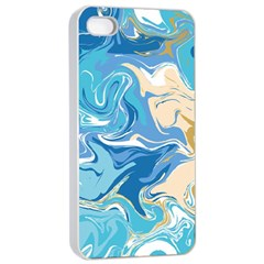 Abstract Marble 2 Apple Iphone 4/4s Seamless Case (white) by tarastyle