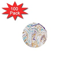 Abstract Marble 3 1  Mini Buttons (100 Pack)  by tarastyle