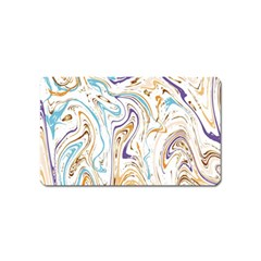 Abstract Marble 3 Magnet (name Card) by tarastyle