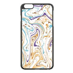 Abstract Marble 3 Apple Iphone 6 Plus/6s Plus Black Enamel Case by tarastyle