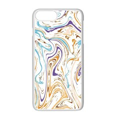 Abstract Marble 3 Apple Iphone 7 Plus White Seamless Case by tarastyle