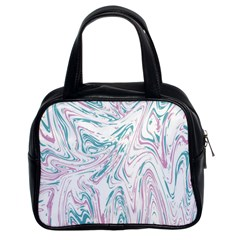 Abstract Marble 4 Classic Handbags (2 Sides) by tarastyle