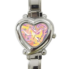 Abstract Marble 5 Heart Italian Charm Watch by tarastyle