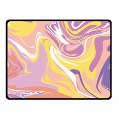 Abstract Marble 5 Fleece Blanket (small) by tarastyle