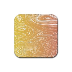Abstract Marble 6 Rubber Square Coaster (4 Pack)  by tarastyle