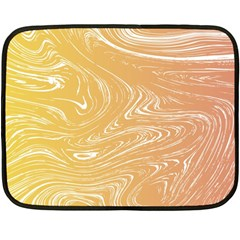 Abstract Marble 6 Double Sided Fleece Blanket (mini)  by tarastyle