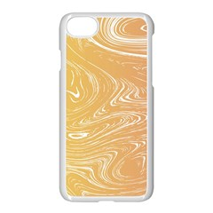 Abstract Marble 6 Apple Iphone 7 Seamless Case (white) by tarastyle