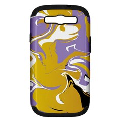 Abstract Marble 7 Samsung Galaxy S Iii Hardshell Case (pc+silicone) by tarastyle