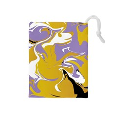 Abstract Marble 7 Drawstring Pouches (medium)  by tarastyle