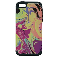 Abstract Marble 8 Apple Iphone 5 Hardshell Case (pc+silicone) by tarastyle