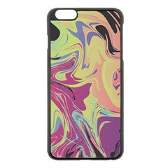 Abstract Marble 8 Apple Iphone 6 Plus/6s Plus Black Enamel Case by tarastyle