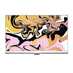 Abstract Marble 9 Business Card Holders by tarastyle
