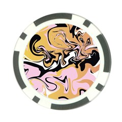 Abstract Marble 9 Poker Chip Card Guard (10 Pack) by tarastyle