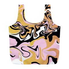 Abstract Marble 9 Full Print Recycle Bags (l)  by tarastyle