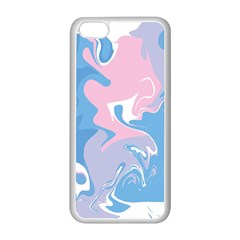 Abstract Marble 10 Apple Iphone 5c Seamless Case (white)