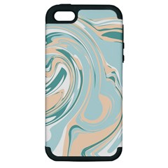 Abstract Marble 11 Apple Iphone 5 Hardshell Case (pc+silicone) by tarastyle
