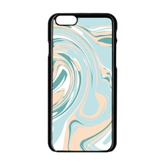 Abstract Marble 11 Apple Iphone 6/6s Black Enamel Case by tarastyle
