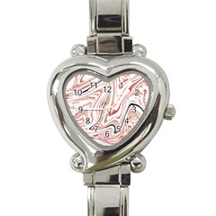Abstract Marble 13 Heart Italian Charm Watch by tarastyle