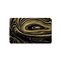 Abstract Marble 15 Magnet (name Card) by tarastyle