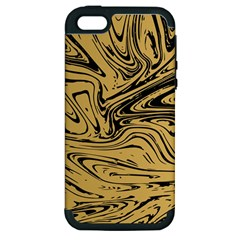 Abstract Marble 16 Apple Iphone 5 Hardshell Case (pc+silicone) by tarastyle