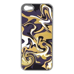 Abstract Marble 17 Apple Iphone 5 Case (silver) by tarastyle