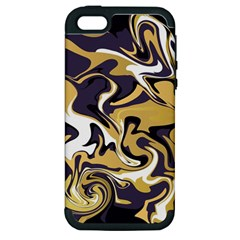 Abstract Marble 17 Apple Iphone 5 Hardshell Case (pc+silicone) by tarastyle