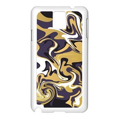 Abstract Marble 17 Samsung Galaxy Note 3 N9005 Case (white) by tarastyle