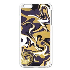 Abstract Marble 17 Apple Iphone 6 Plus/6s Plus Enamel White Case by tarastyle