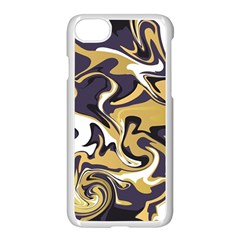 Abstract Marble 17 Apple Iphone 7 Seamless Case (white) by tarastyle