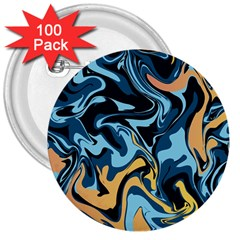 Abstract Marble 18 3  Buttons (100 Pack)  by tarastyle