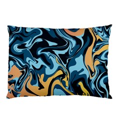 Abstract Marble 18 Pillow Case by tarastyle