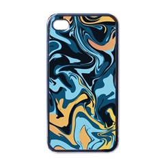 Abstract Marble 18 Apple Iphone 4 Case (black) by tarastyle