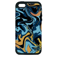 Abstract Marble 18 Apple Iphone 5 Hardshell Case (pc+silicone) by tarastyle