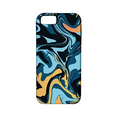 Abstract Marble 18 Apple Iphone 5 Classic Hardshell Case (pc+silicone) by tarastyle