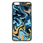 Abstract Marble 18 Apple iPhone 6 Plus/6S Plus Black Enamel Case Front