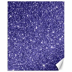 New Sparkling Glitter Print E Canvas 16  X 20