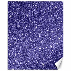 New Sparkling Glitter Print E Canvas 11  X 14   by MoreColorsinLife