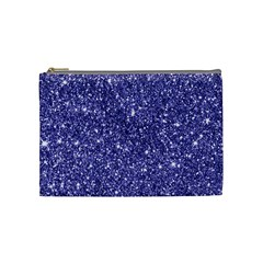 New Sparkling Glitter Print E Cosmetic Bag (medium)  by MoreColorsinLife
